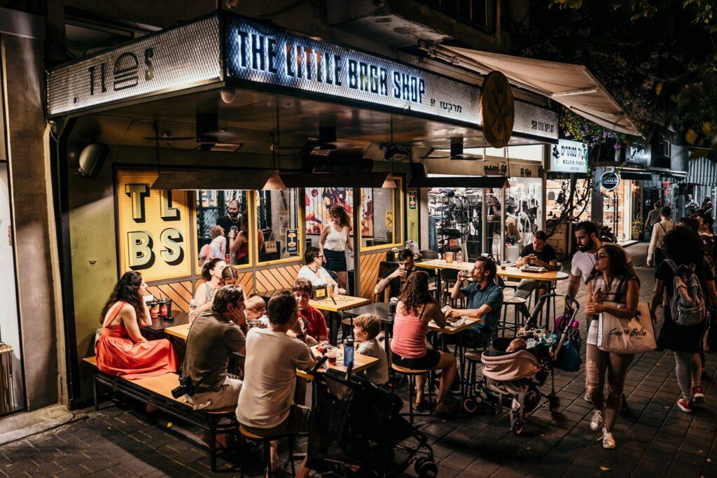 the little burger shop מרקטו תמונה מבחוץ
