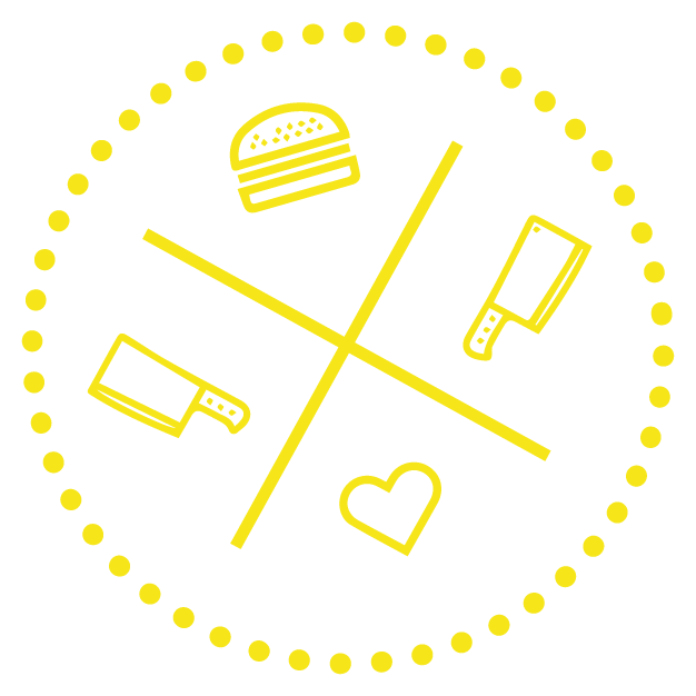 לוגו חנות הבורגר הקטנה